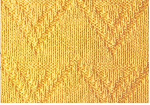 Узор для вязания спицами -